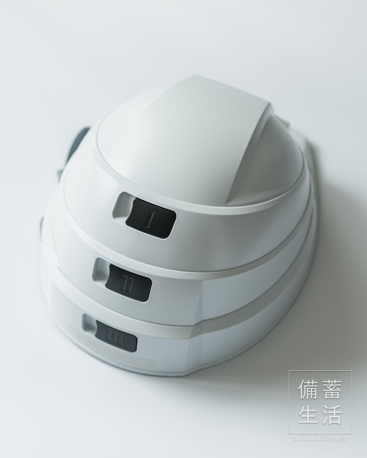 IZANO 防災用 たためるヘルメット