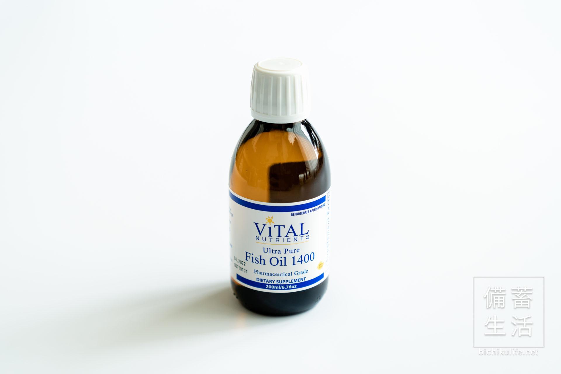 ヴァイタル ニュートリエンツ フィッシュオイル1400 Vital Nutrients Fish Oil 1400