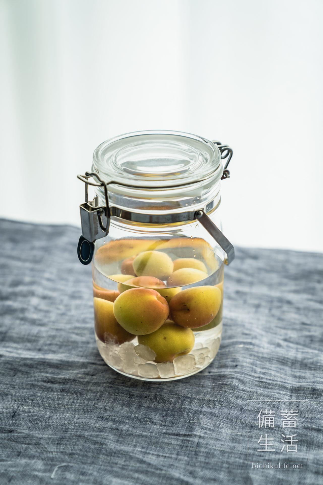 梅酒づくり 自家製梅酒を作るアイデア、完熟の南高梅で作る自家製梅酒
