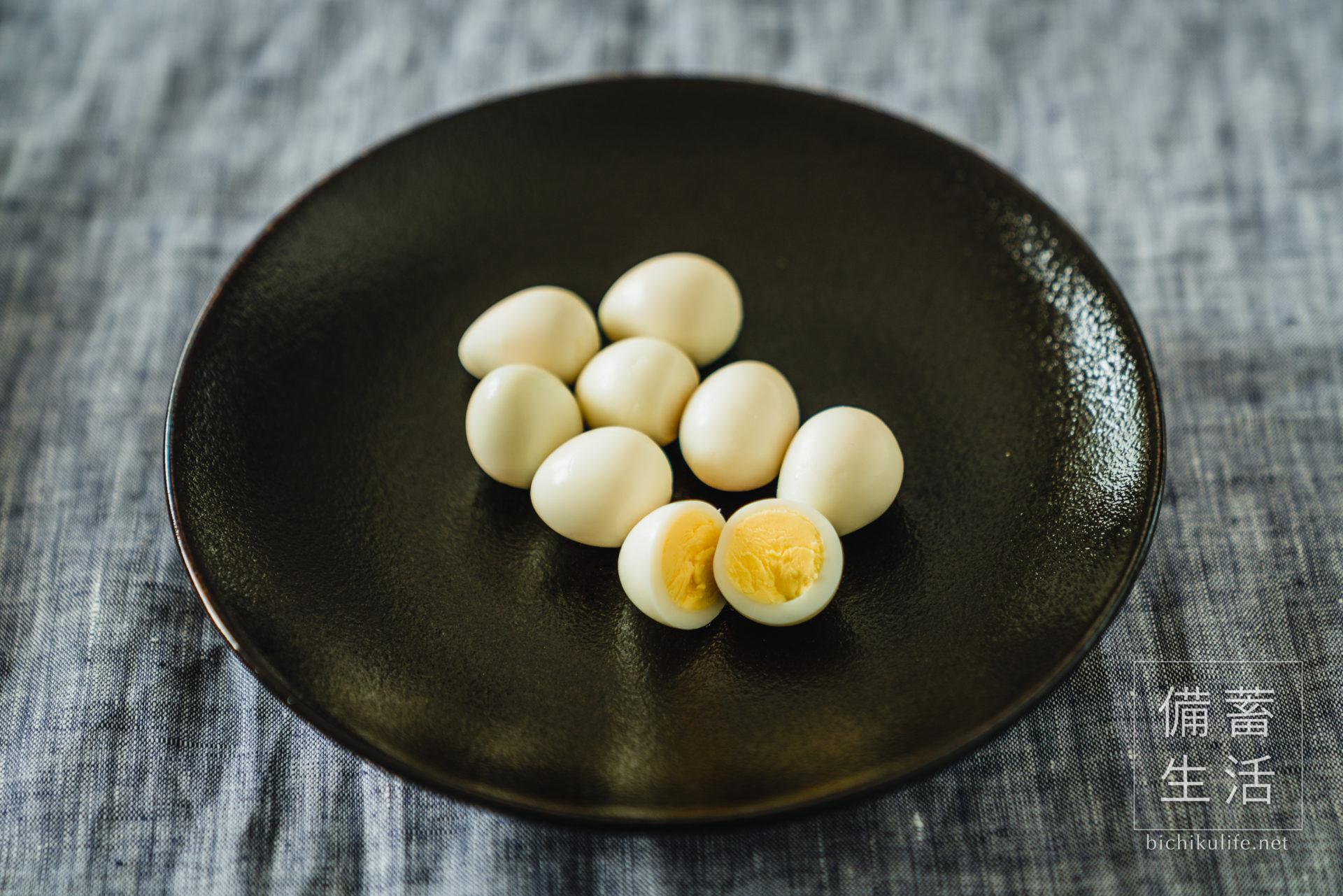 うずらの卵のぬか漬けの作り方とコツ