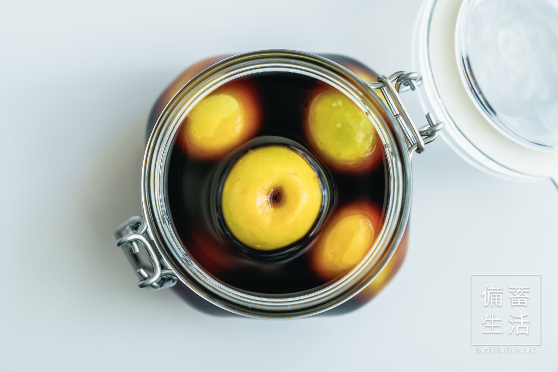 梅の醤油漬けのレシピ
