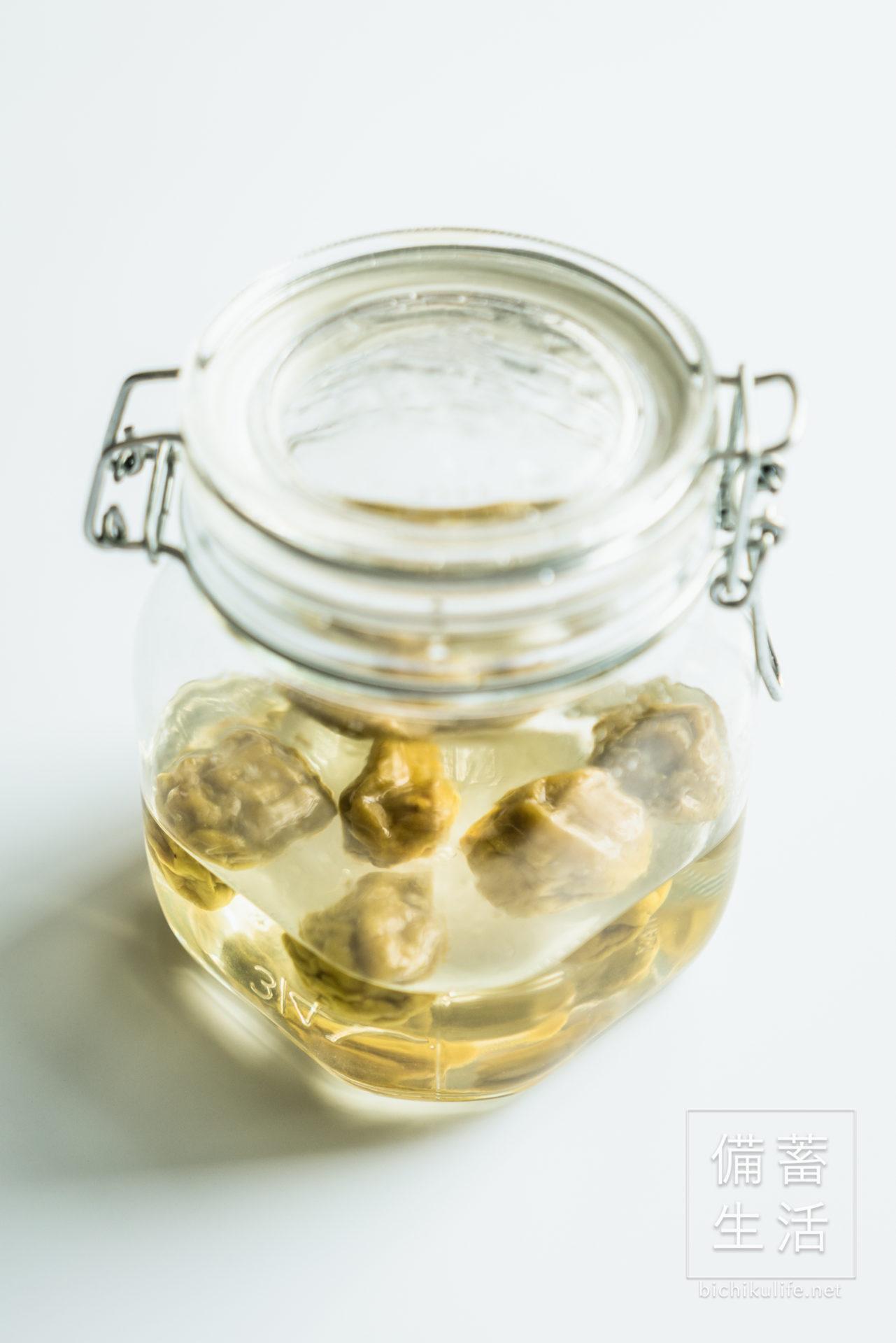 梅シロップづくり 自家製梅シロップを作るアイデア、梅シロップの完成