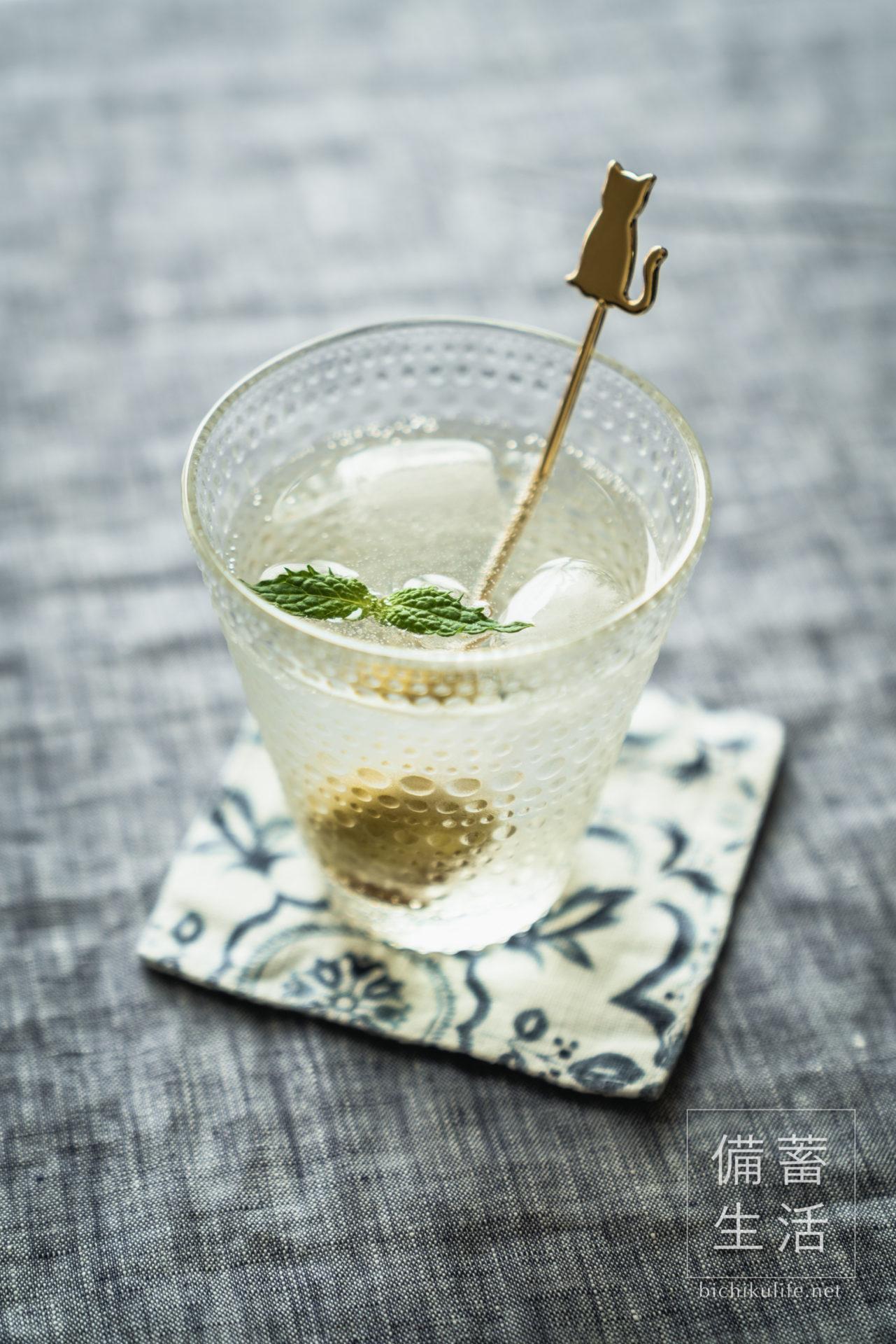 梅シロップづくり 自家製梅シロップを作るアイデア、梅シロップ炭酸水ジュース