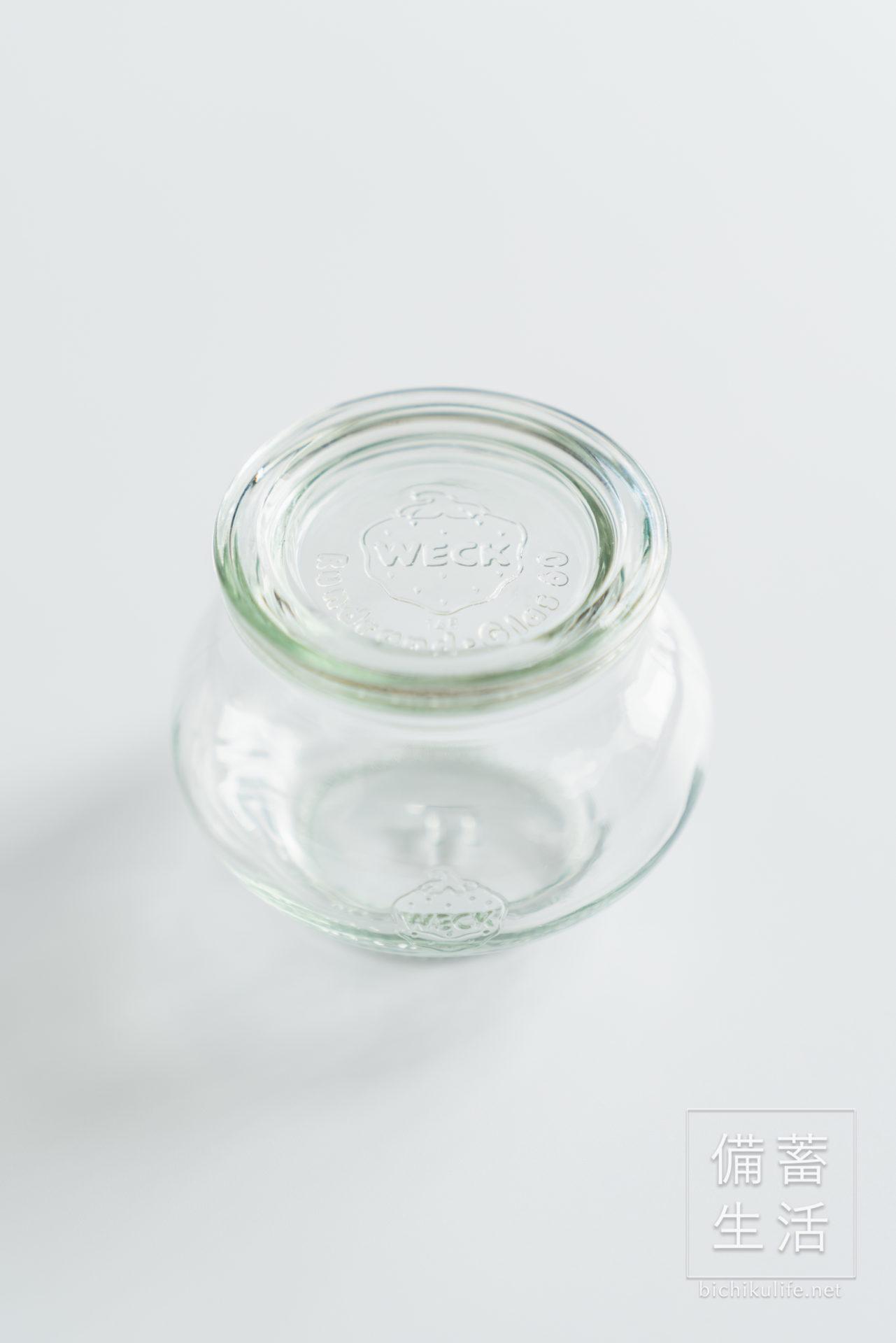 weck、WECK ウェックのガラス保存瓶、保存容器、デコシェイプ200ml