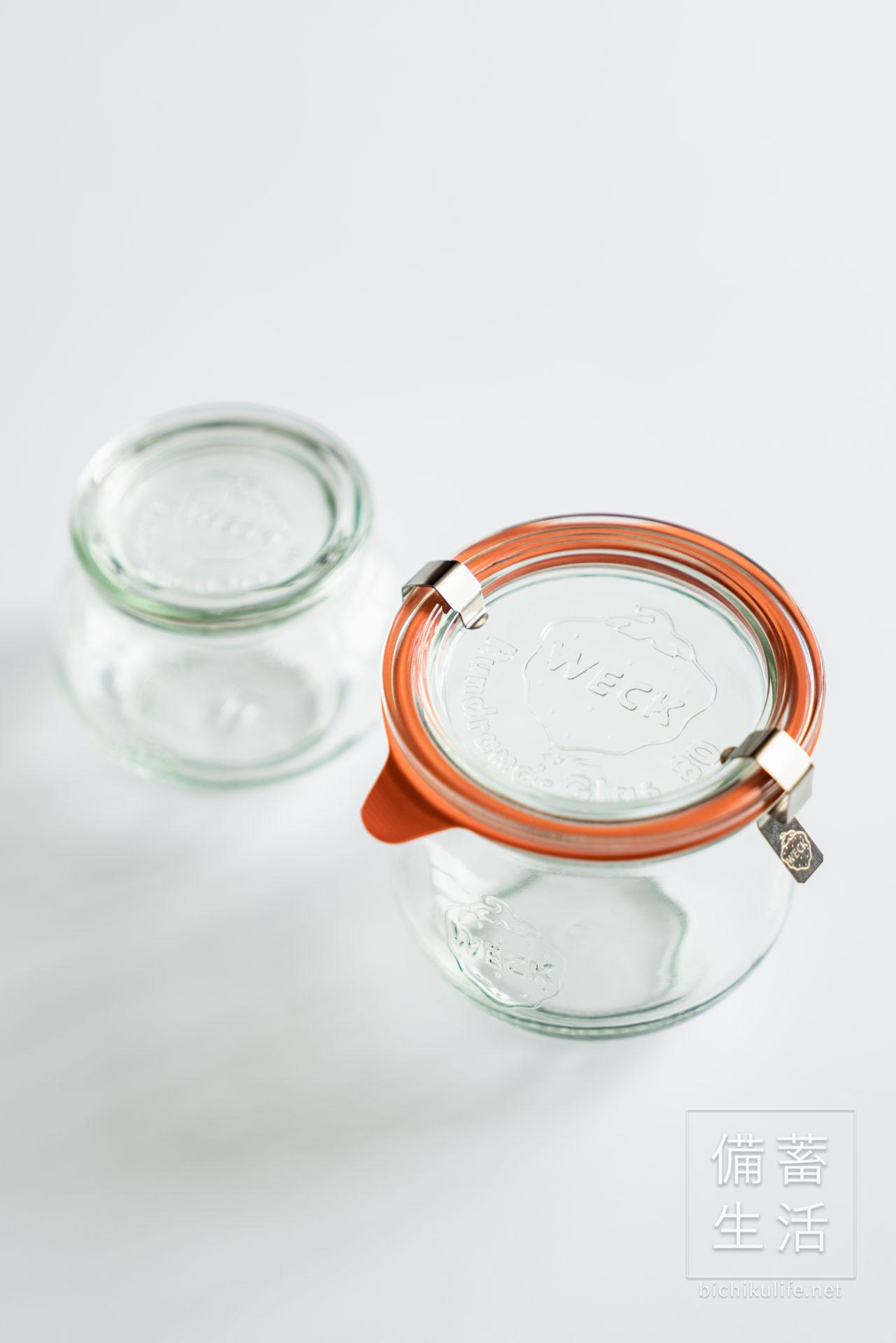 weck、WECK ウェックのガラス保存瓶、保存容器