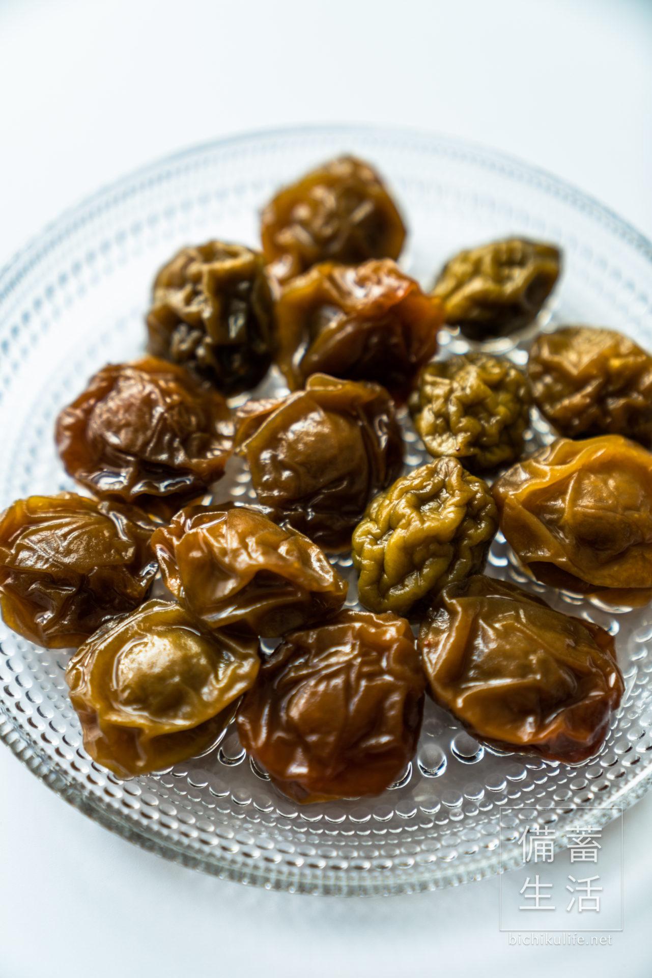 梅ジャムの作り方・レシピ(梅シロップに残った梅で作る)材料の梅
