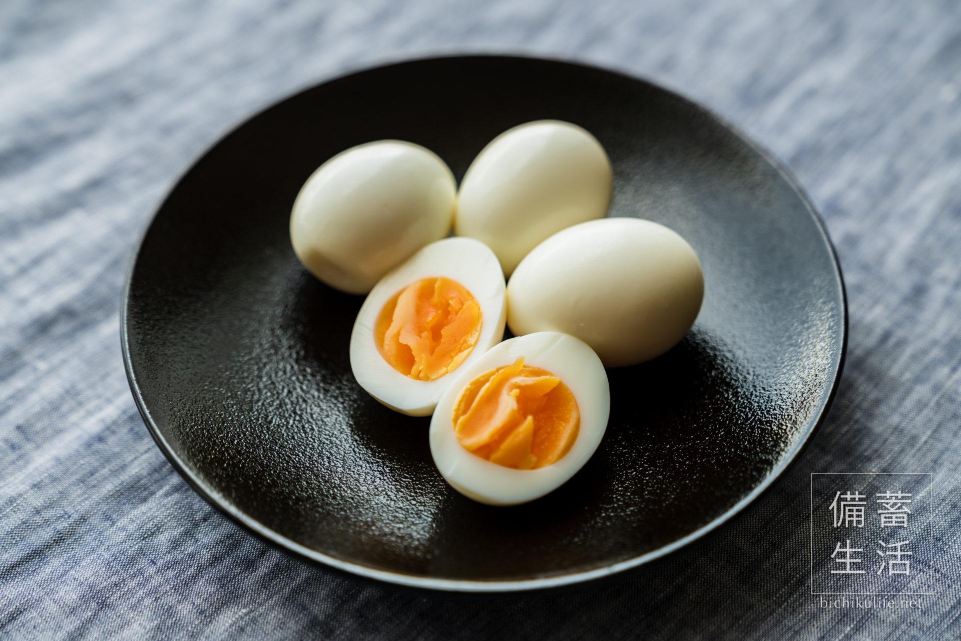 ゆで卵のぬか漬けの作り方