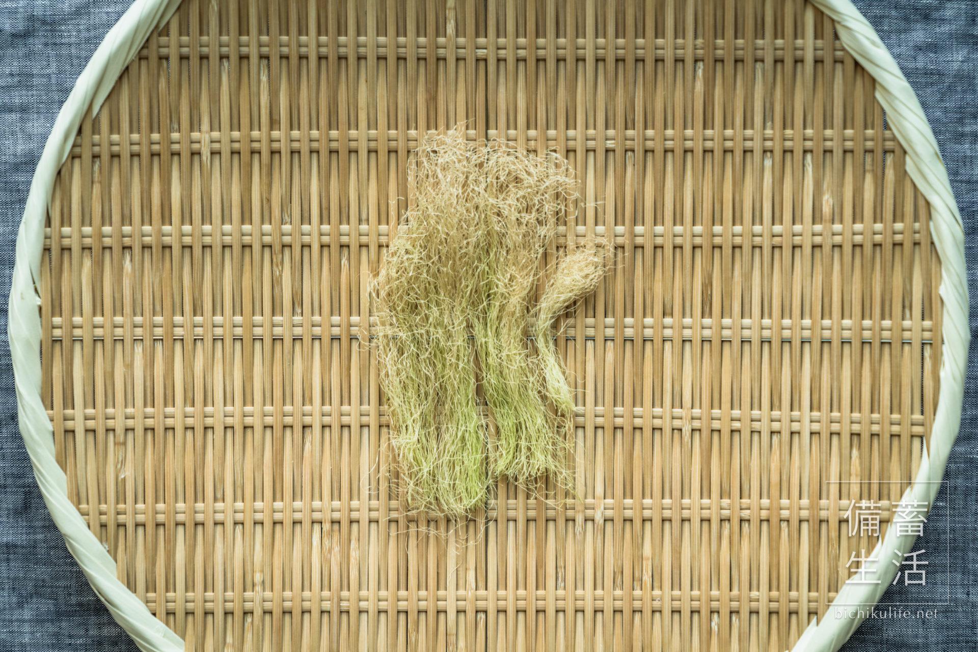 とうもろこしのひげ 干し野菜づくり|干しトウモロコシのひげの作り方