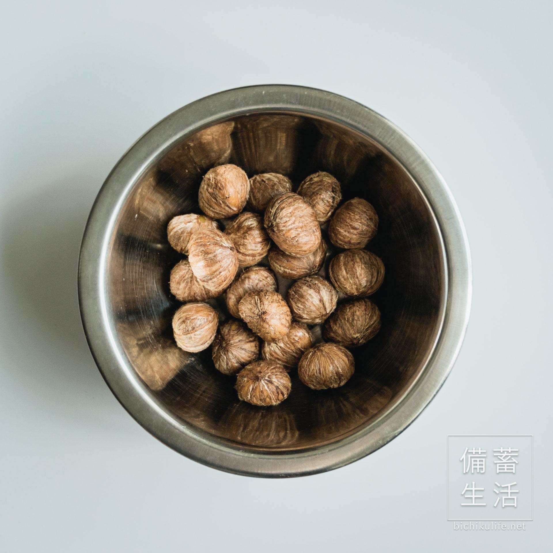栗の渋皮煮の作り方・レシピ