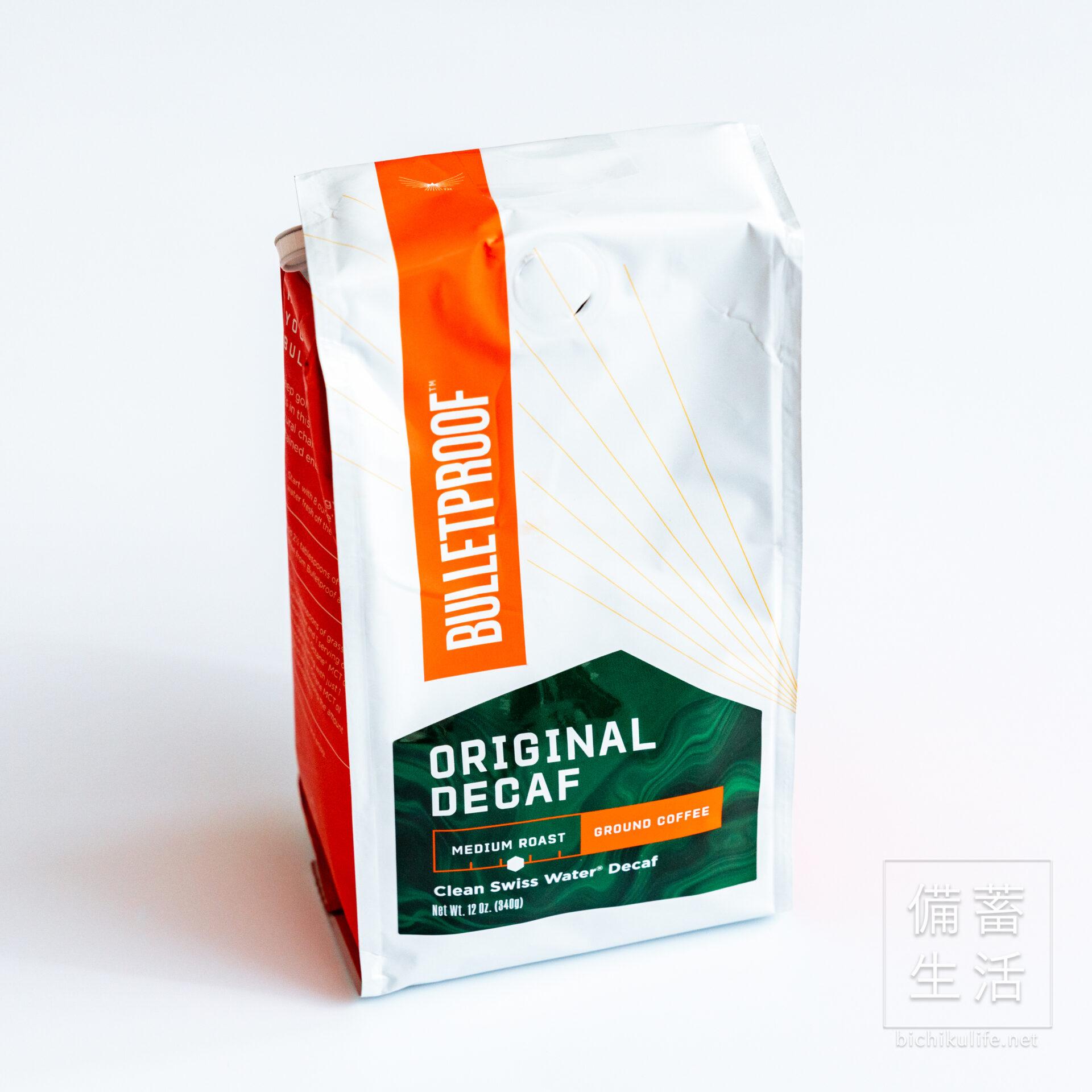Bulletproofの防弾コーヒー Bulletproof Oridinal Decaf:Medium Roast