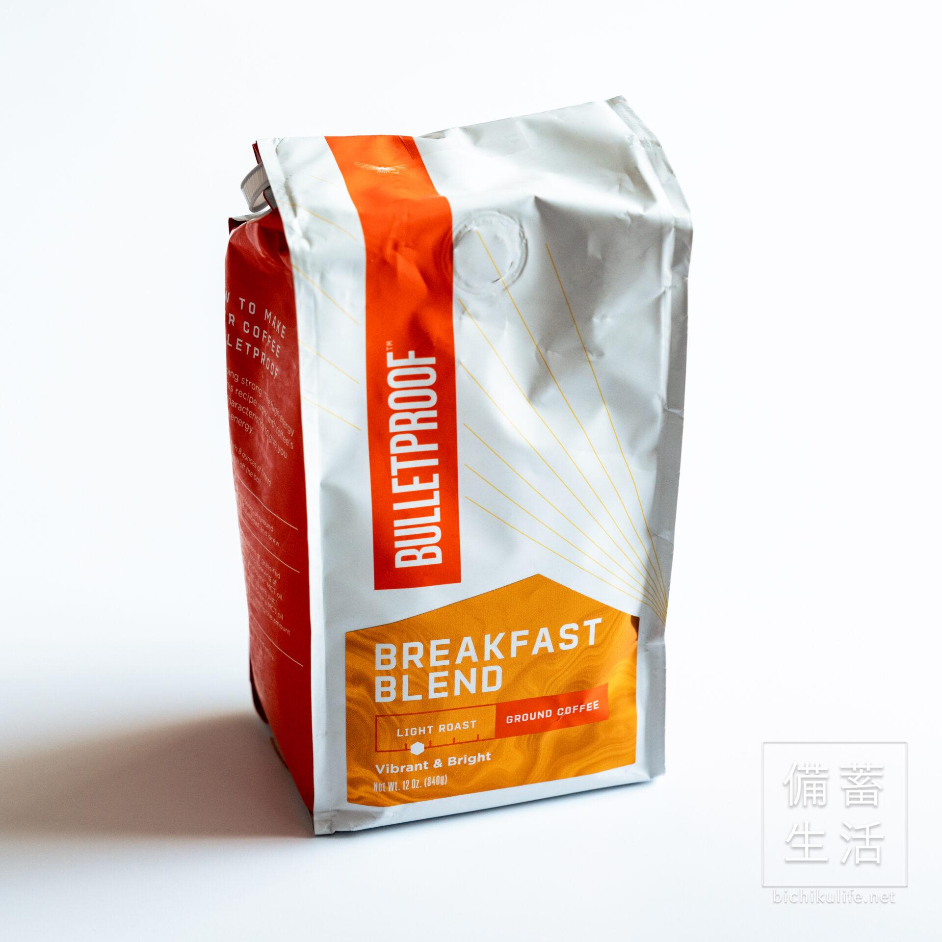 Bulletproofの防弾コーヒー Bulletproof Breakfast Blend
