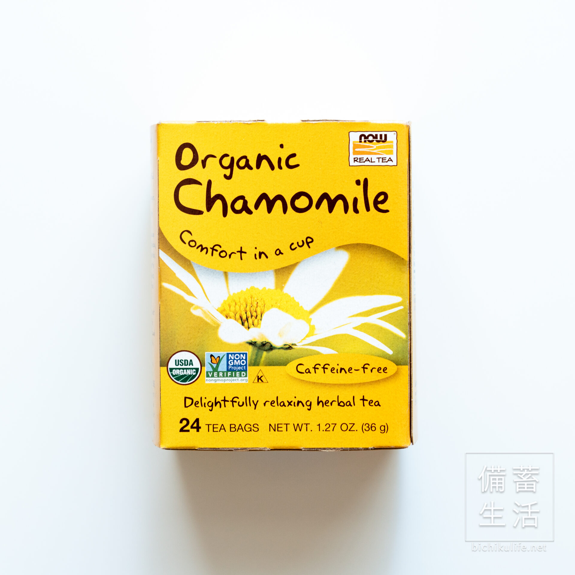 now Real Tea 有機カモミールティー