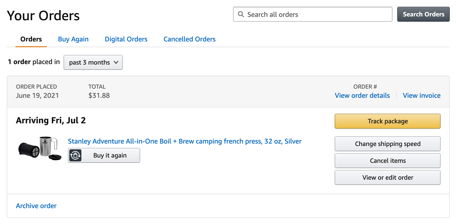Amazon.com(アメリカ)の購入方法・個人輸入する方法 配送