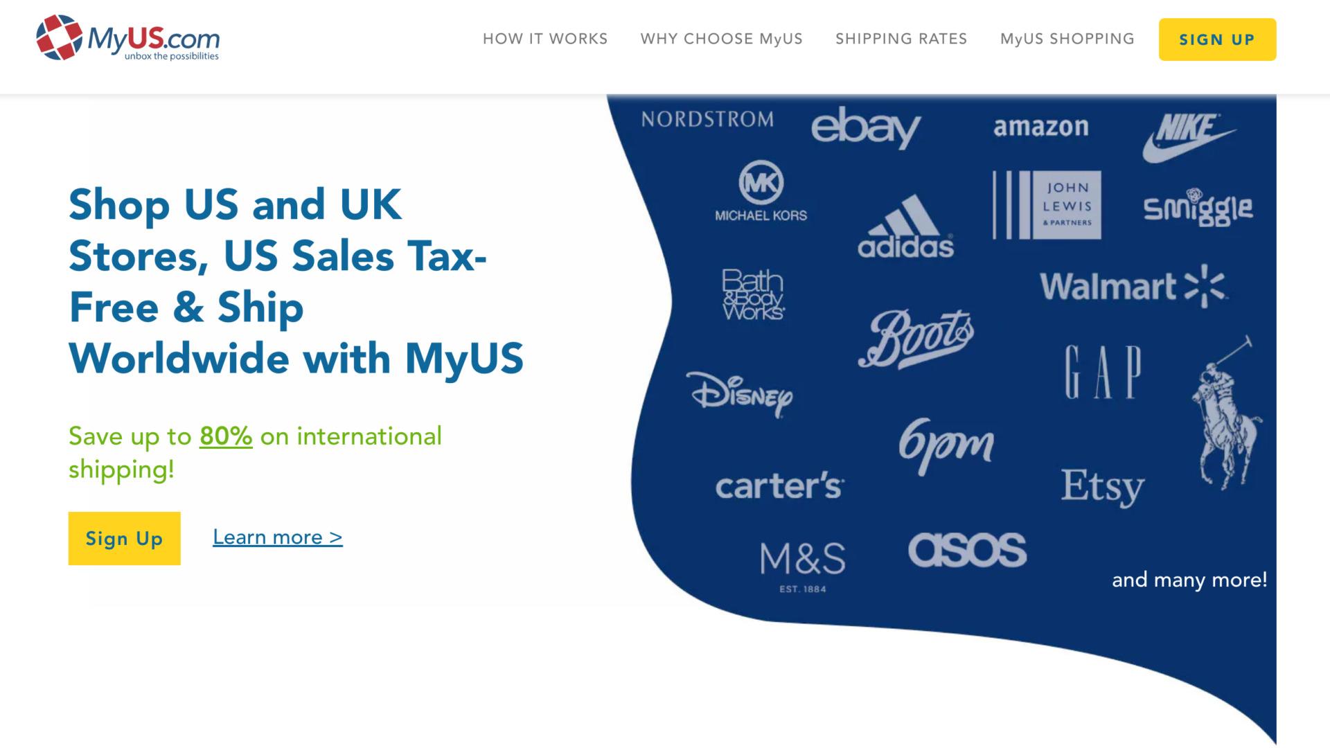 アメリカから日本への海外転送サービスの比較 MyUS.com