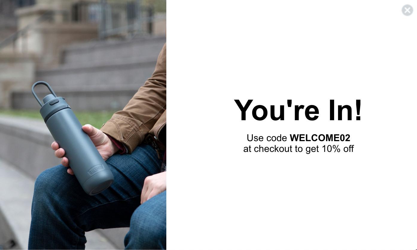 サーモス(Thermos)のアメリカ通販サイトから個人輸入する 割引クーポンを取得