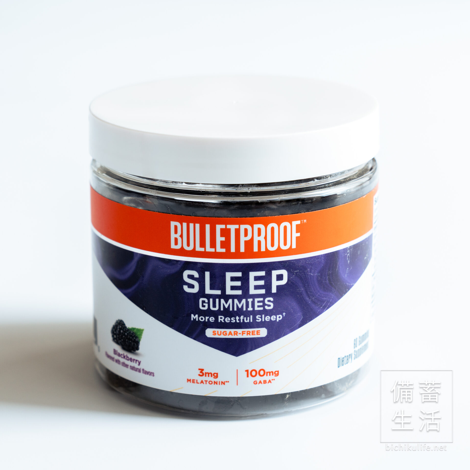 Bulletproofのサプリメントグミ VITAMINS SLEEP GUMMIES
