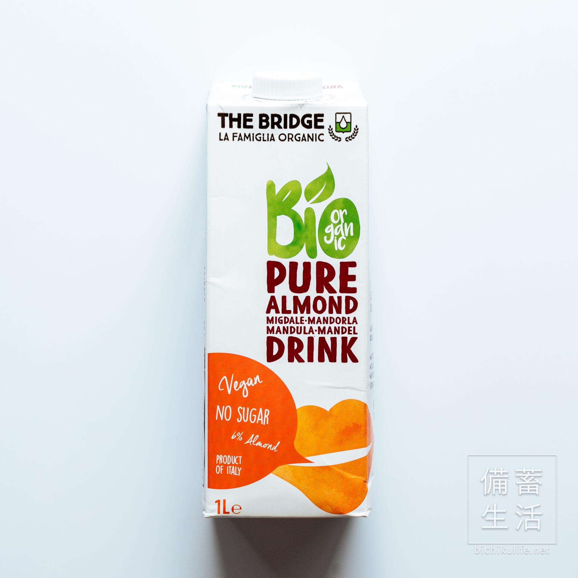 ブリッジ THE BRIDGEのアーモンドミルク