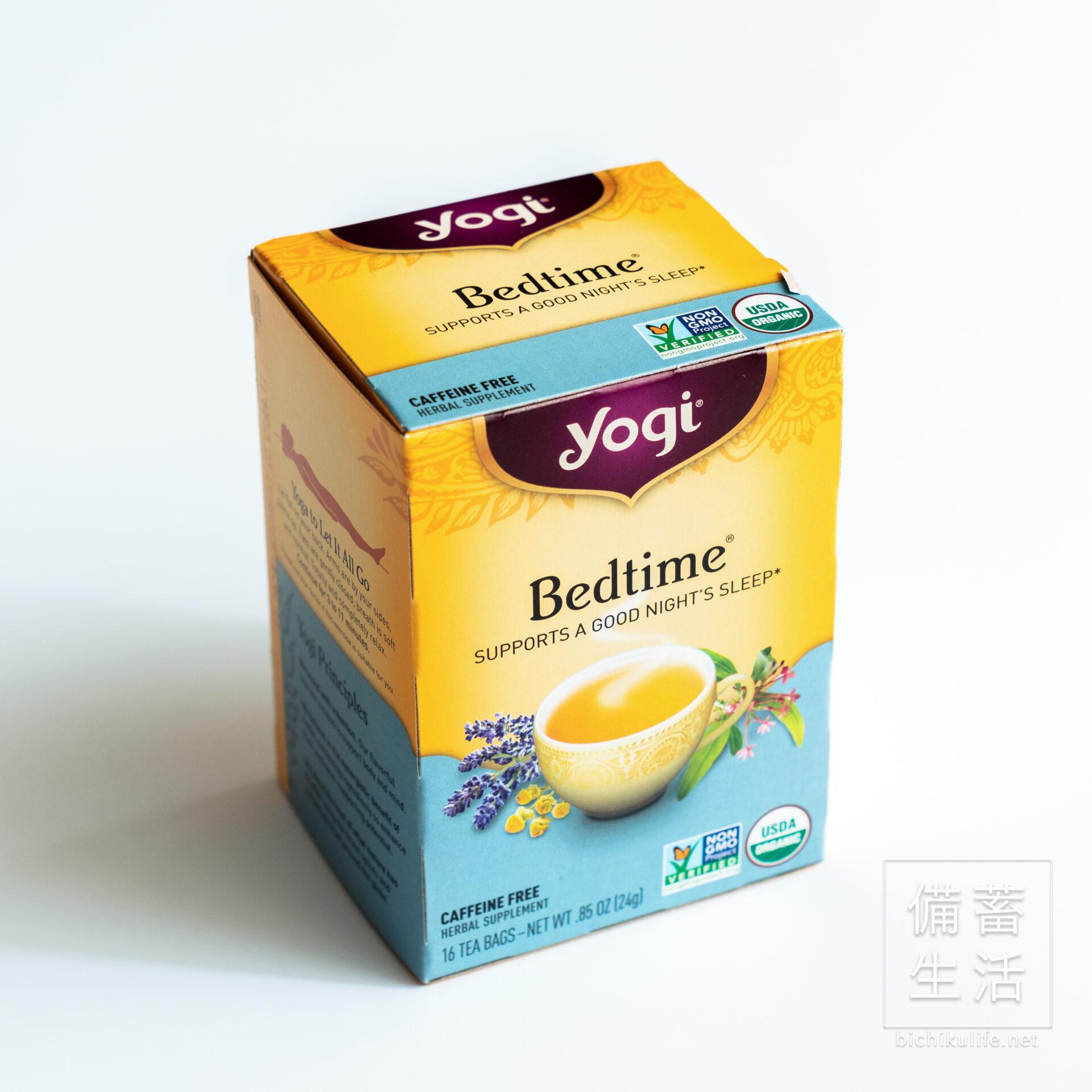 Yogi Tea カフェインフリー 有機ハーブティー Bedtime