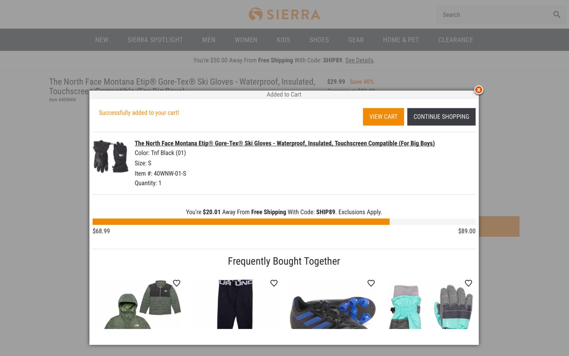 シエラ(旧Sierra Trading Post)